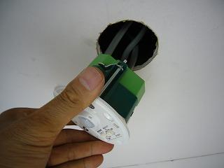 センサーの取付
