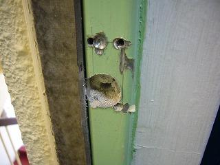 ドア枠開口